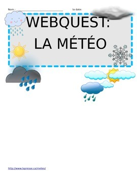 French Weather Webquest