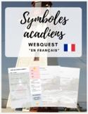 """French Webquest: """"Symboles acadiens"""" - en français!"""