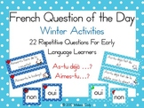 French Winter Activities Question of the Day