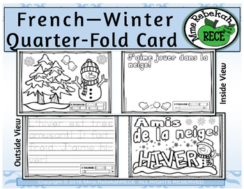 French Christmas Activity