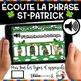 Saint-Patrick French St-Patrick BOOM Cards - BUNDLE 5 Jeux (Thème ST-PATRICK)