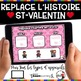 French Winter BOOM Cards - BUNDLE 5 Jeux (Thème ST-VALENTIN)
