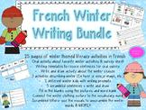 French Winter Bundle- Writing