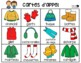 French Winter Clothing Bingo Game - Bingo des Vêtements d'Hiver - Colour