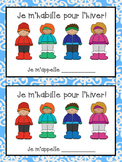 French Winter Clothing  Bundle- Vocabulary and Writing Booklet- Les vêtements