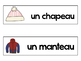 French Winter Clothing Vocabulary