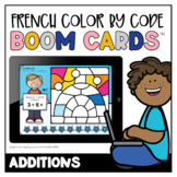 French Winter Colour by Code: Additions   Distance Learning