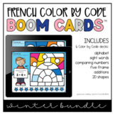 French Winter Color by Code Bundle