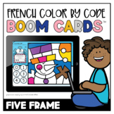 French Winter Colour by Code: Five Frame   Distance Learning