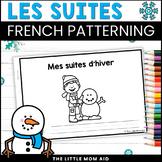 French Winter Patterns Activity: Les Régularités d'Hiver en français