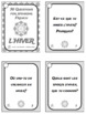 French Winter Question Cards - 30 French Winter Speaking Prompts - L'Hiver