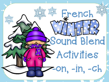 French Winter Sound Blend Literacy Centre