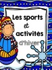 French Winter Sports and Activities Read Aloud Book with Writing template
