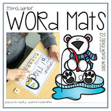 French Winter Word Mats