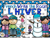 French Winter Write the Room-l'hiver