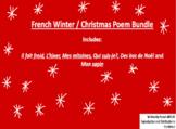 French Winter and Christmas Poems - Poèmes de l'hiver et Noël