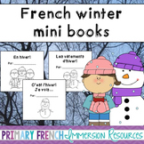 French - Winter themed mini books