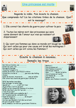 French Women History Month bundle (powerpoint and activity booklet)