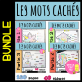 50%OFF French Word Search Mots cachés Vocabulaire / Adjectifs / Back to school