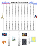 French Word Search Puzzle