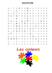 French Word Search pack for Juniors
