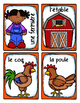 French Word Wall • At the Farm • À LA FERME