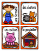 French Word Wall Card Collection - À LA FERME