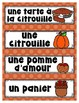 French Word Wall - L'AUTOMNE
