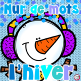French Word Wall - L'HIVER