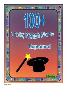 French - Word Skills (100+ Tricky Words)