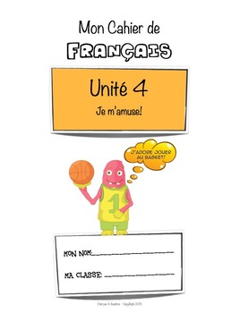 French Workbook for Beginners - Unit 4 of 5 (Sale!)