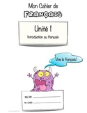 French Workbook for Beginners - Unit 1 of 5.