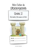 French Workbook for Beginners - Unit 2 of 5.