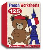 French Worksheets for Kindergarten (100 Worksheets)