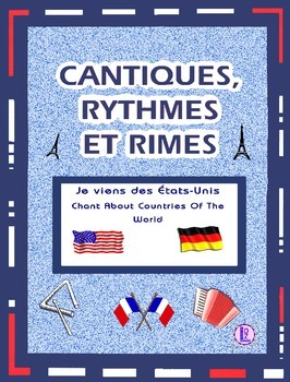 World Countries  - French rap-like Chants with Exercises and Mp3