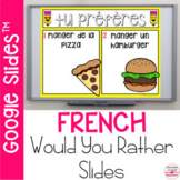 French Would You Rather Speaking Prompts for Community Building
