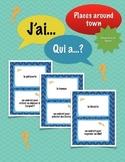 J'ai../Qui a..? (Places around town): French Wrap-Around G