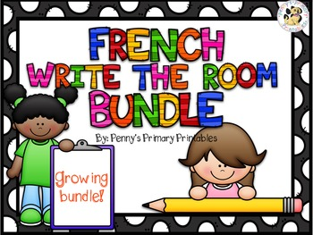 French Write the Room Bundle