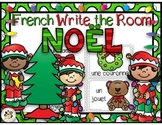 French Christmas Write the Room: Noël