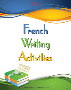 French Writing Activities - Digital Files