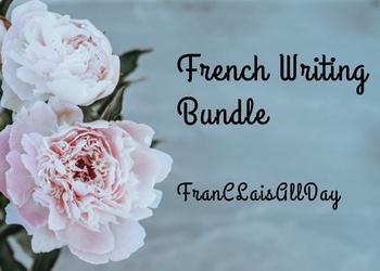 French Writing Bundle