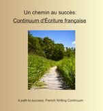 French Writing Continuum