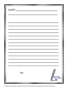 French Writing Journal - 75 Writing Topics + Ideas for Implementation
