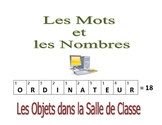 French Writing and Spelling Activity with Class Objects
