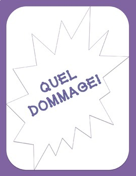 French Y and EN Pronouns Game