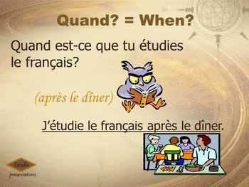 French Yes or No Questions and Interrogative Expressions - Mots Interrogatifs