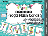 Move It! French Yoga Flash Cards for Brain Breaks and Daily Physical Activity