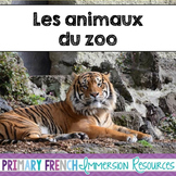 French Zoo Animals - Les animaux de zoo