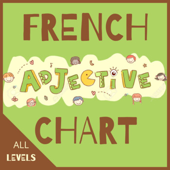 French adjective agreement chart + answers
