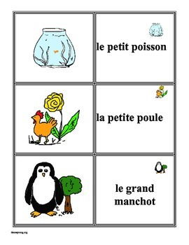 """French adjective placement and (BAGS) matching and """"old monster"""""""